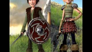 Hiccup And Astrid (my heart will go on / celine dion )