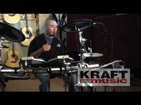 Kraft Music - Yamaha DTXTREME III Special Electronic Drum Kit Demo