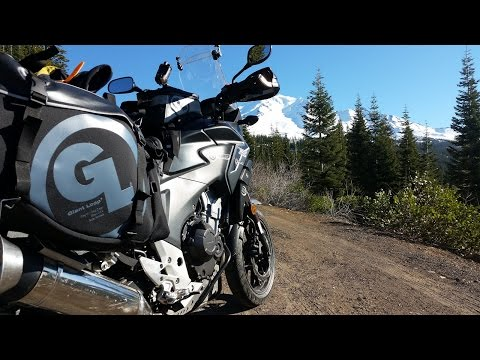Giant Loop Siskiyou Panniers and RRP CB500X level 2 review