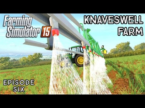 Let's Play Farming Simulator 2015 | Knaveswell Farm | Episode 6