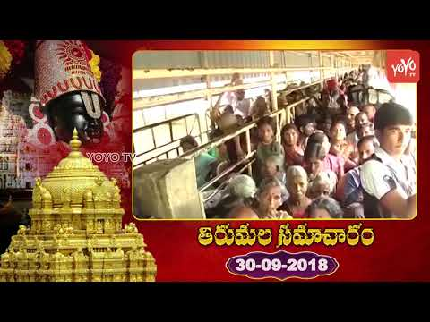 Tirumala Samacharam Today | Tirumala Tirupati Samacharam Today | #TTD News | YOYO TV Channel