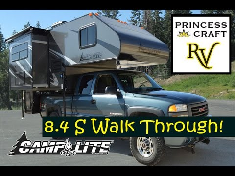 2015 Camplite 8.4S Truck Camper at Princess Craft RV