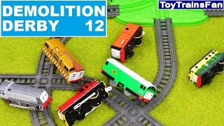 Trackmaster Demolition Derby #12  - Thomas & Friends accidents. Tomek i Przyjaciele zderzenia