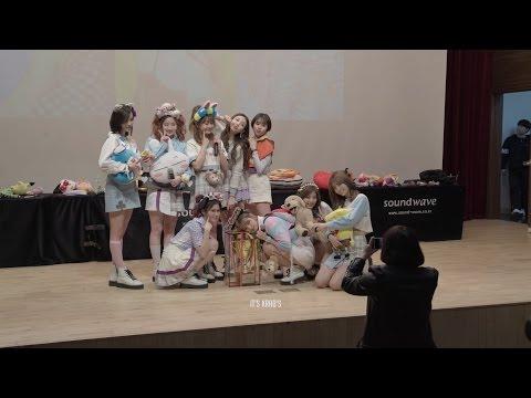 170311 트와이스 TWICE 판교 팬사인회 - 사인 종료 후