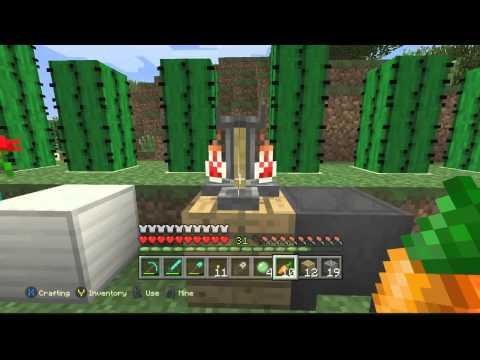 Minecraft Xbox One -Construllendo Y Sacando Logors!!!!