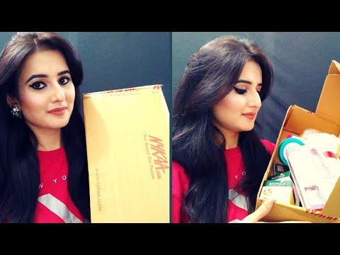 Huge NYKAA Haul | Skincare, Haircare,  Beginners Makeup Kit Products | SWATI BHAMBRA