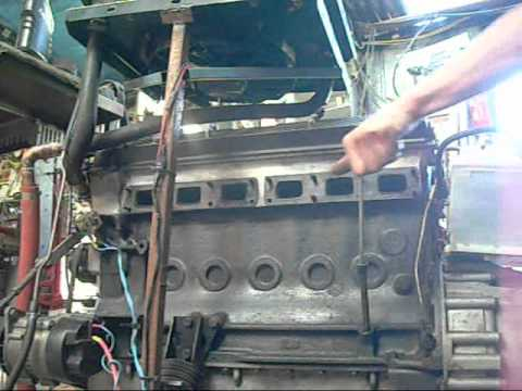 Jaguar Xj6 4 2l Engine With No Exhaust Manifolds Youtube
