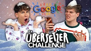 GOOGLE ÜBERSETZER CHALLENGE mit Marvyn Macnificent | Joey's Jungle