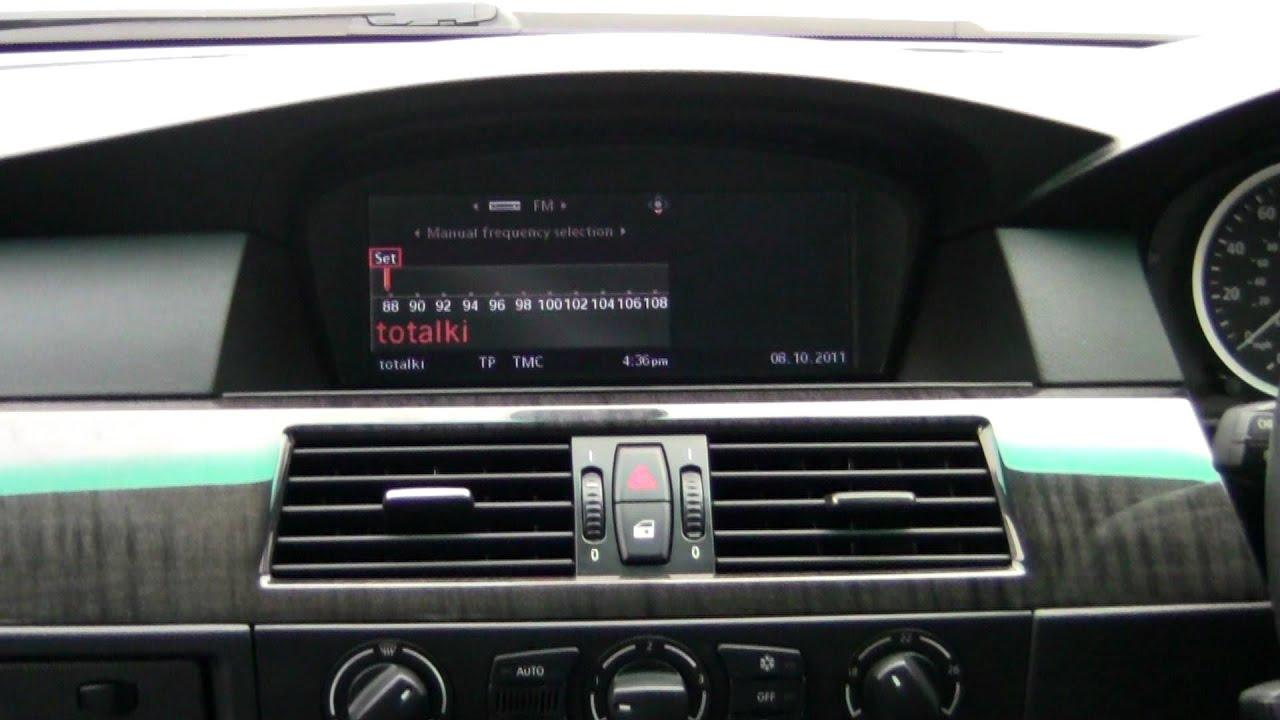 dab digital radio oe integrated to bmw 5 series huets