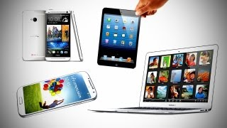 HUGE TECH GIVEAWAY -- Galaxy S4, HTC One, iPad Mini & Macbook Air!