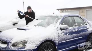04-25-2017 Rapid City, South Dakota - Late Spring Snow Accumulations