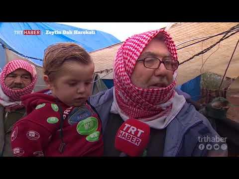 Terör örgütlerinin zulmünden kaçan Suriyelilerin umudu Zeytin Dalı Harekatı