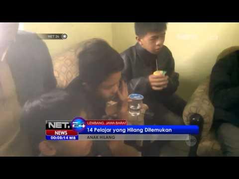 NET24 10 Anak SD Jayagiri Bandung yang Hilang di Tangkuban Perahu Berhasil Ditemukan