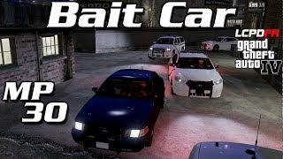 GTA IV LCPDFR MP #30 - Bait Car #2 - People Can Hear the Siren