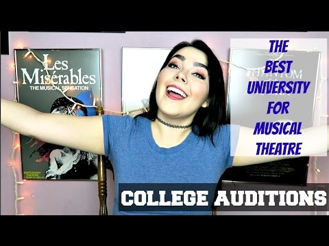The BEST University for Musical Theatre | College Auditions