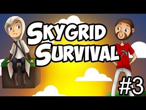 Minecraft: Skygrid survival -