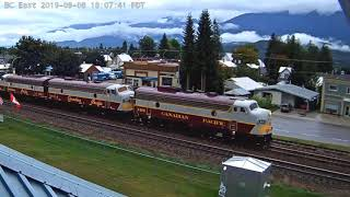 ROYAL CANADIAN PACIFIC!  Revelstoke, BC 9/8/2019