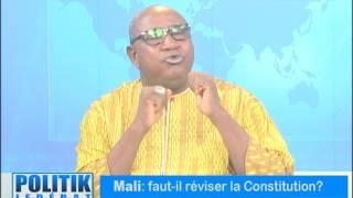POLITIK MALI FAUT IL REVISER LA CONSTITUTION 09072017