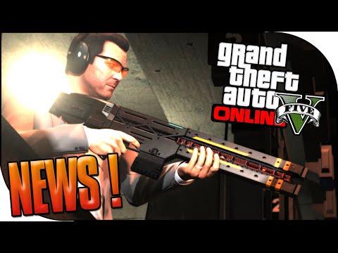 INFO GTA V NEXT GEN : LES NOUVELLES ARMES ! IMAGES OFFICIELLES ! ( HACHETTE ET FUSIL A IMPULSION )