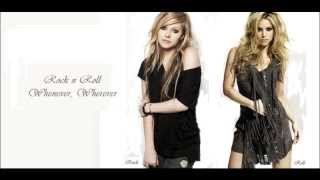 Shakira vs  Avril Lavigne - Rock N Roll Whenever, Wherever (mashup)