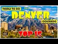 Things to do in Denver (Colorado) - 15 Best Places to Visit | Top Tourist Attractions ☑️