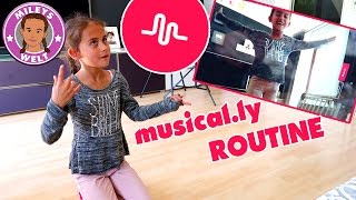 MILEYS MUSICAL.LY ROUTINE | MILEYS WELT