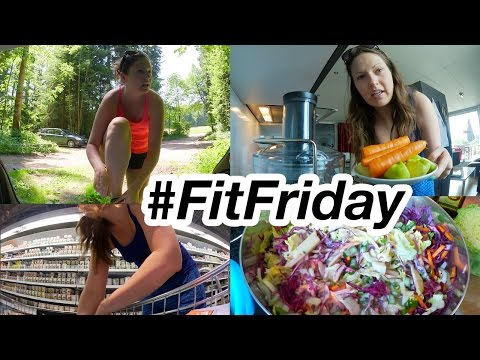 Work Out, Food Haul & Healthy Cooking! #FitFriday