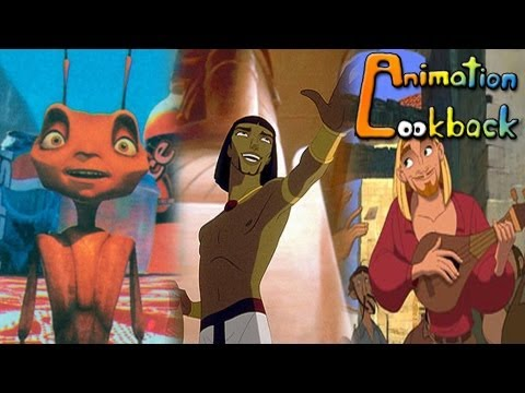 Animation Lookback: Dreamworks Animation part1