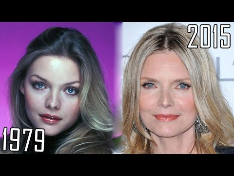 Michelle Pfeiffer (1979-2015) all movies list from 1979! How much has changed? Before and Now!