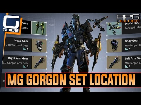 The Surge - How to get MG Gorgon Armor Set