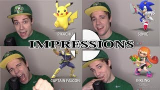 SUPER SMASH BROS ULTIMATE IMPRESSIONS! (Every Character)