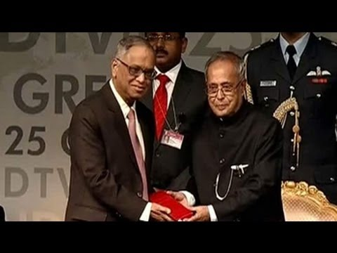 Courage is the most important attribute of a leader: N R Narayana Murthy