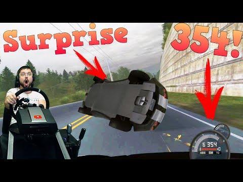 Сверхскоростные гонки с экшеном Nitrocide - Need for Speed: ProStreet руле Fanatec ClubSport