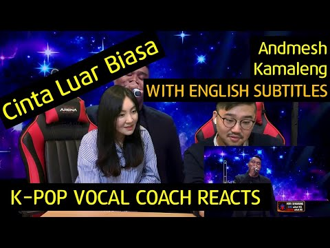 Download  K-pop Vocal Coach reacts to Cinta Luar Biasa -  Andmesh Kamaleng Gratis, download lagu terbaru