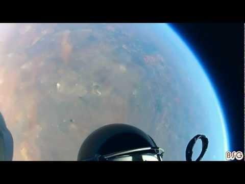 Rare GoPro footage - Felix Baumgartner - Space Jump [HD]
