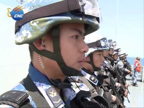 China-Russia Real Combat Drill