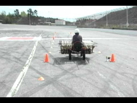 The Coke Zero & Mentos Rocket Car: Mark II