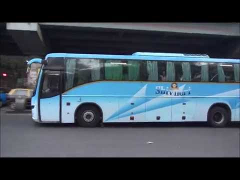 Volvo Buses of Maharashtra Tourism (Semi Sleeper Regular & Multi Axle) taken at Dadar, Mumbai