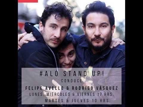 Aló Stand Up capítulo 4 con Fabrizio Copano y Carolina Cox de Woki Toki (07/08/15)