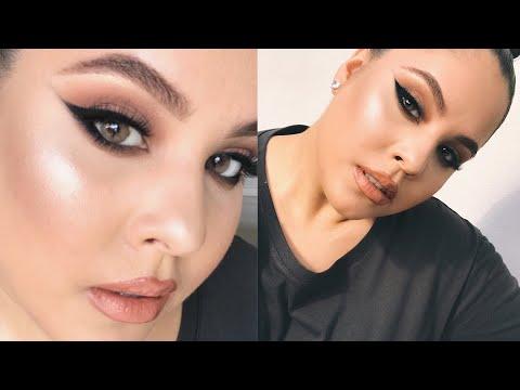 Easy Beginner Smokey Cat Eye Makeup Tutorial   Nelly Toledo