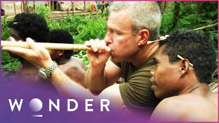 Joining A Jungle Tribe On The Hunt For Prey | Man Hunt S1 EP2 | Wonder