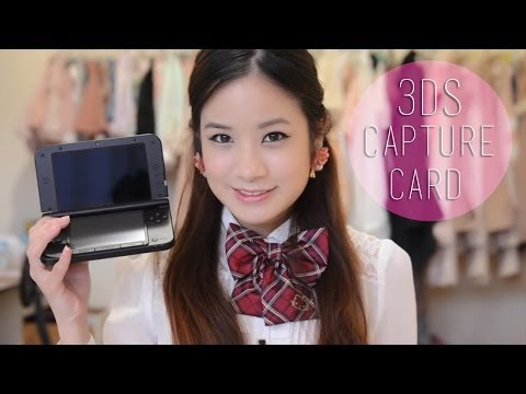 Nintendo 3DS XL Katsukity Capture Card Unboxing