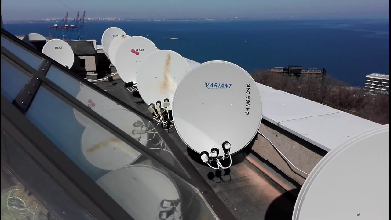 Установка спутниковой антенны в одессе своими руками 34