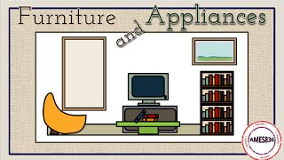 Furniture and Appliances - English Vocabulary