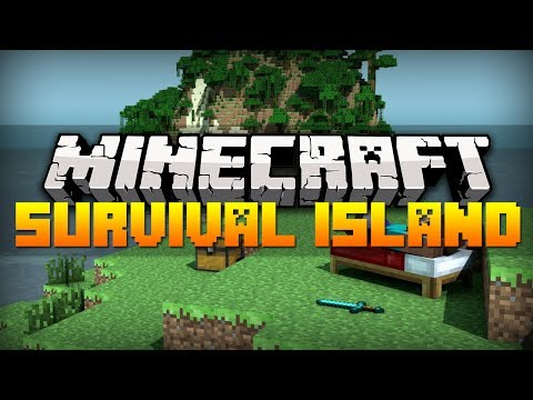 Minecraft Best Seeds - ISLAND WITH STRONGHOLD | 1.7.4 (HD)
