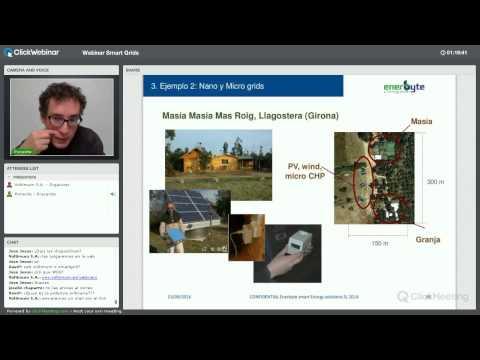 Webinar Smart Grids: la gestión de la energía del...