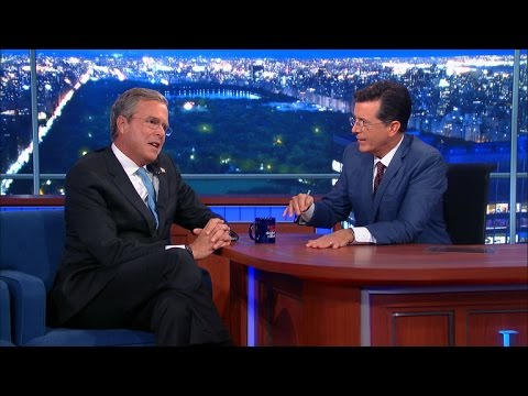 """In cut """"late show"""" Q&A session Jeb Bush touts Florida's 72 hr waiting period to purchase handguns, calls for """"mental health checks"""" for gun owners, more goodies"""