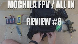 Mochila FPV / Backpack / Estación FPV