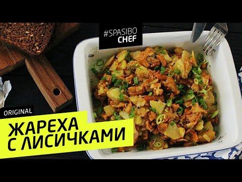 ЖАРЕХА С ЛИСИЧКАМИ #42 ORIGINAL (или почему лисички популярны в Европе) рецепт Ильи Лазерсона