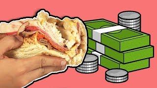 Türk İnternetinin En Pahalı Sandviçini Yaptırdık - Ennn Karışık Sandviç
